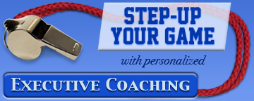 Step-Up Your Game with personalized Executive Coaching